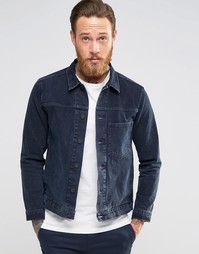Чернильно-синяя джинсовая куртка Levis Line 8 - Чернильно-синий
