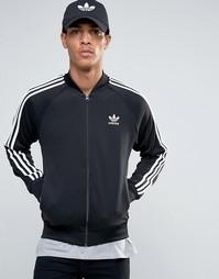 Спортивная куртка с трилистником adidas Originals Superstar AY7059