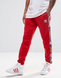 Спортивные штаны adidas Originals AY7766 - Красный