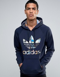 Худи adidas Originals BTS AY7795 - Синий