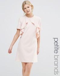 Платье с оборками Alter Petite - Blush