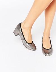 Туфли на каблуке ASOS SIMEON - Pewter
