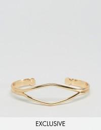 Золотистый браслет DesignB - Золотой