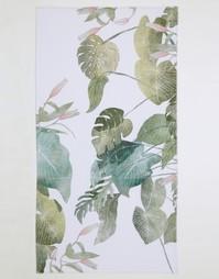 Пляжное полотенце с принтом кувшинок ASOS - Принт водяных лилий