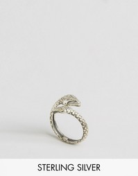 Серебряное кольцо в форме змеи Child Of Wild - Серебряный
