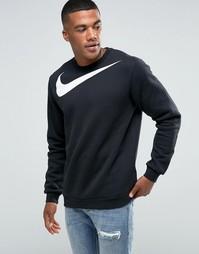 Черный свитшот Nike 823106-010 - Черный