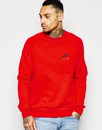 Красный свитшот Nike 809058-657 - Красный
