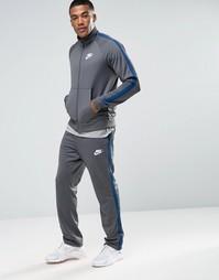 Серый спортивный костюм Nike 840643-021 - Серый