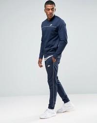 Синий спортивный костюм Nike 804308-451 - Синий