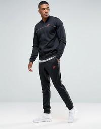 Черный спортивный костюм Nike 804308-010 - Черный