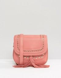 Сумка с длинным ремешком Yoki Fashion - Розовый