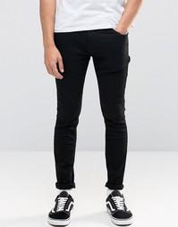 Черные джинсы скинни Jack & Jones - Черный