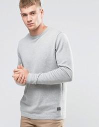 Базовый свитер с круглым вырезом Jack & Jones - Серый