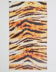 Пляжное полотенце с тигровым принтом ASOS - Принт тигр