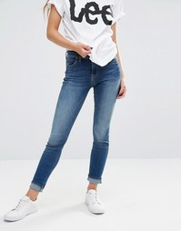 Супероблегающие джинсы Lee Jodee - Blue lagoon