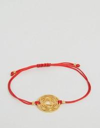 Браслет-шнурок Ottoman Hands Root Chakara - Золотой