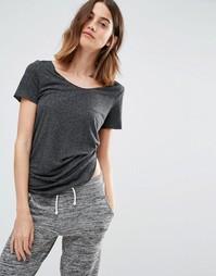Свободная футболка Vero Moda - Черный