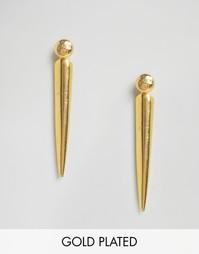 Серьги Ottoman Hands - Золотой