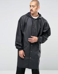 Свободная водонепроницаемая куртка Rains - Черный
