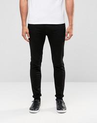 Черные супероблегающие джинсы Hugo By Hugo Boss - Черный