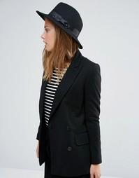 Фетровая шляпа Alice Hannah - Черный