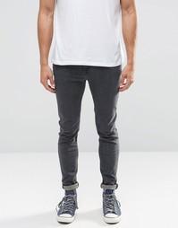 Супероблегающие серые джинсы Lee Malone - Серый