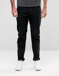 Выбеленные черные суженные джинсы Diesel Larkee-Beex 674N
