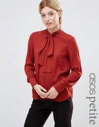 Блузка с галстуком Alter Petite - Red rust