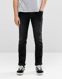 Черные выбеленные джинсы скинни Blend Cirrus - Черный джинсовый