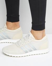 Коричневые кроссовки adidas Originals Los Angeles S75989 - Коричневый