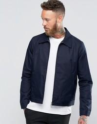 Темно-синяя куртка Харрингтон Paul Smith - Темно-синий