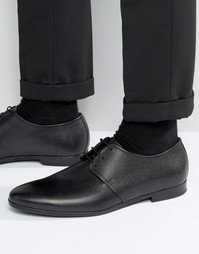 BOSS By Hugo Boss Paris Leather Pebble Derby Shoes - Черный