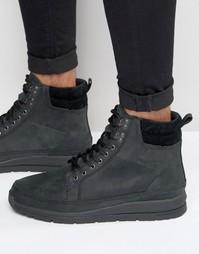 Кожаные ботинки Boxfresh Loadha - Черный