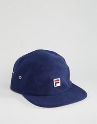 Флисовая кепка с логотипом Fila эксклюзивно для ASOS - Темно-синий