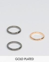 3 наборных кольца Simon Carter - Мульти