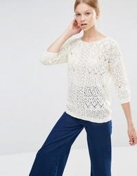 Джемпер с длинными рукавами Vero Moda - Античный белый