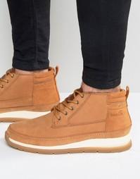 Кожаные ботинки Boxfresh Cryser - Рыжий
