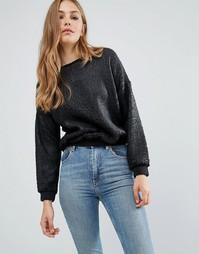 Свитшот с эффектом трещин Pepe Jeans Pendle - 999 черный