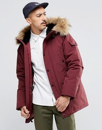 Парка Carhartt WIP Anchorage - Burgundy