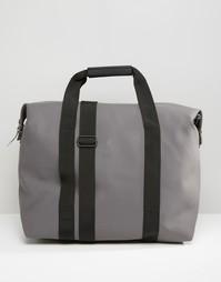 Серая сумка на молнии Rains - Серый
