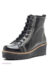 Черные Ботинки METROPOLPOLIS