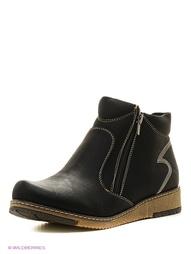 Черные Ботинки Zenden