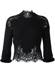кружевная блузка  Ermanno Scervino