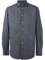 рубашка с мятым эффектом Massimo Alba