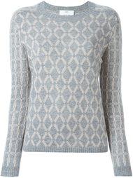 свитер с узором  Allude