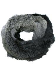 шарф с градиентным эффектом Yves Salomon