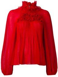 блузка с оборками Giamba