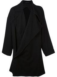 пальто свободного кроя Yohji Yamamoto