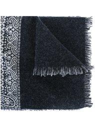 шарф с узором пейсли Forte Forte