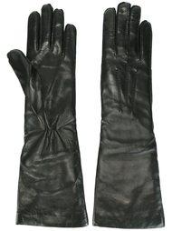 кожаные перчатки Ann Demeulemeester